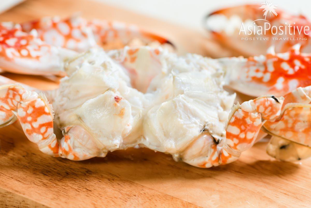 Всё это съедобно (исключая, конечно, панцирь и твёрдые перегородки в мясе) | Как почистить свежего краба. Пошаговая инструкция с фото. | AsiaPositive.com