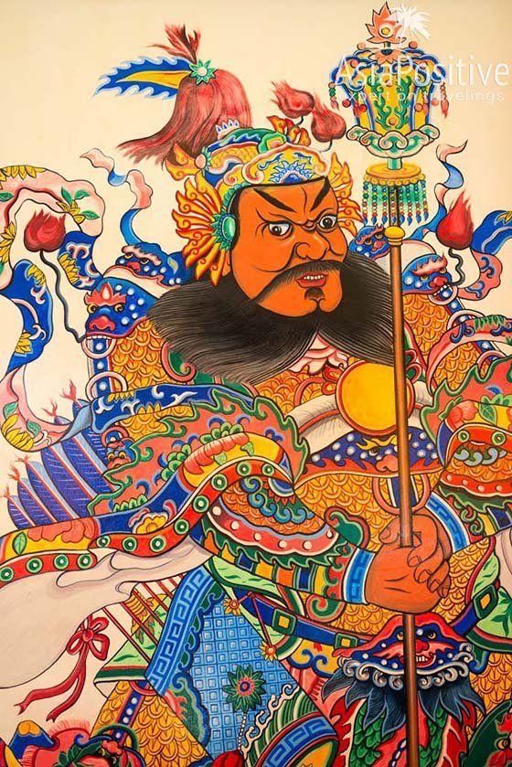 Бог моря и хранитель дверей | Храм Тянь Хоу (Thean Hou Temple) | Достопримечательности Куала-Лумпура | Малайзия | Путешествия AsiaPositive.com