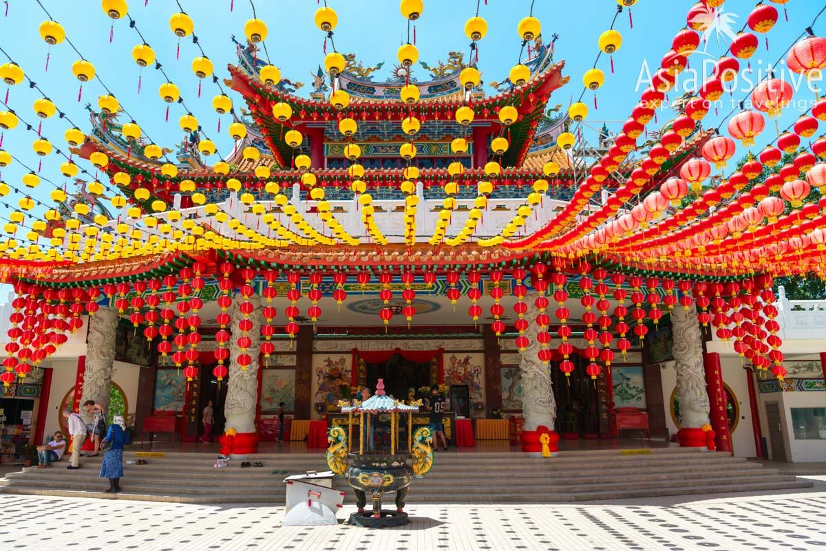 Главный зал для молитв в Храме Тянь Хоу (Thean Hou Temple) | Достопримечательности Куала-Лумпура | Малайзия | Путешествия AsiaPositive.com
