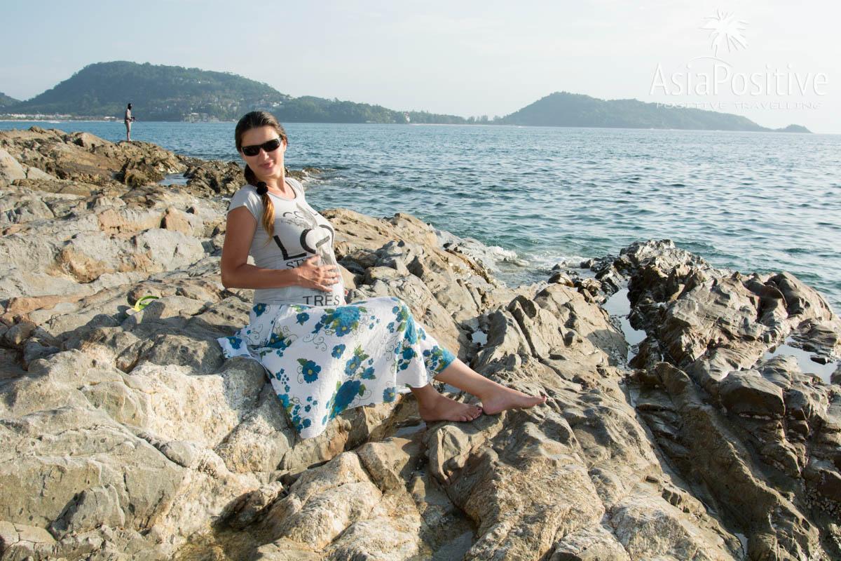 Море и беременность в Таиланде