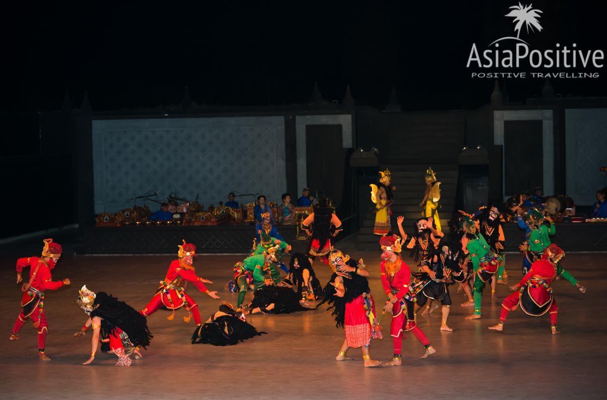 Сражение армий Раваны и Рамы | Рамаяна - самая популярная легенда Азии. | Позитивные путешествия AsiaPositive.com