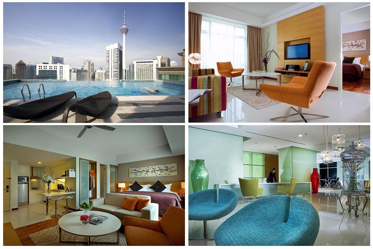 Большие, стильные и хорошо укомплектованные апартаменты | 7 лучших отелей в центре Куала-Лумпура (KLCC) | Малайзия