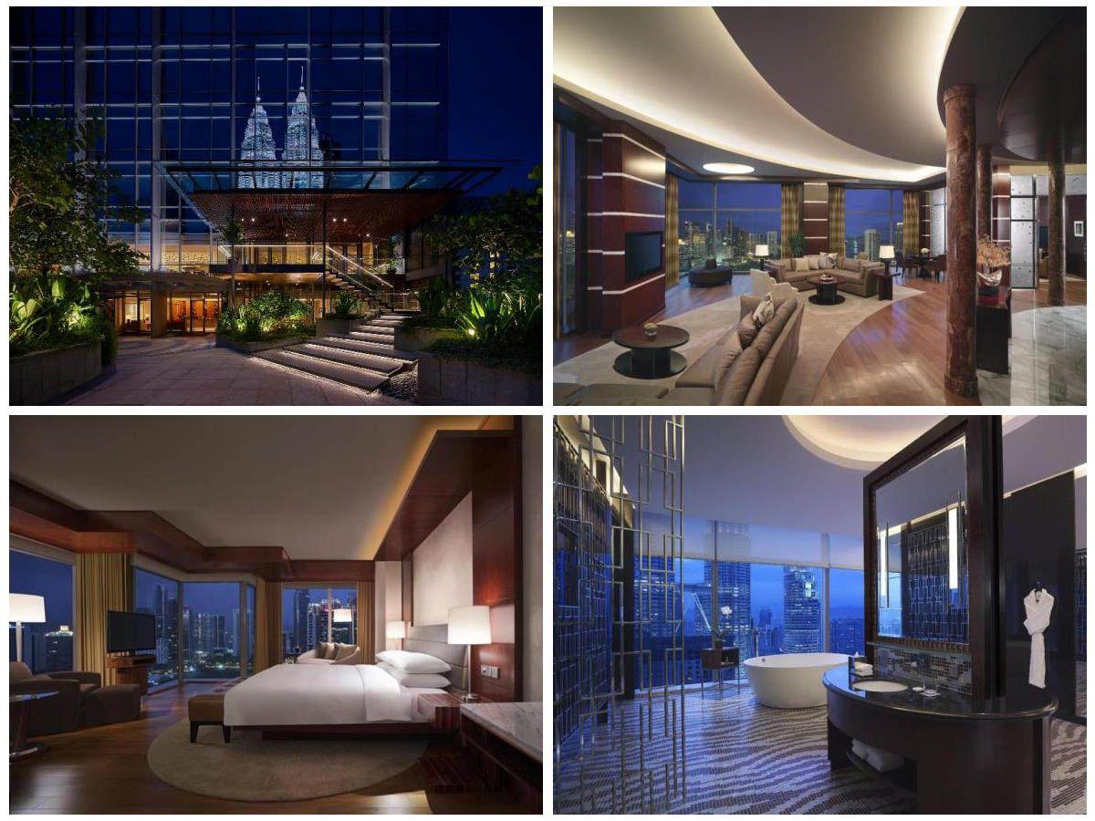 Отель (5 звёзд) с красивым видом на Куала-Лумпур и башни Петронас | 7 лучших отелей в центре Куала-Лумпура (KLCC) | Малайзия