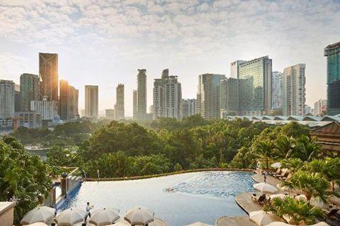 Mandarin Oriental Kuala Lumpur 5 звёзд | Лучшие отели в центре Куала Лумпура | Малайзия
