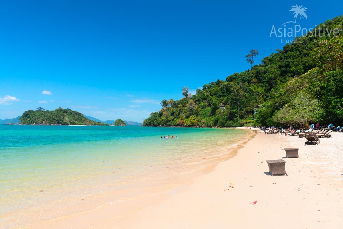 Море в зимние месяцы на Лангкави спокойное и красивое | Погода и климат на Лангкави | Когда лучше ехать на Лангкави | Малайзия с AsiaPositive.com