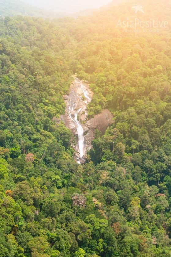 Каскадный водопад Seven Walls на острове Лангкави | Малайзия с AsiaPositive.com