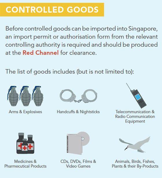 Товары для ввоза которых в Сингапур требуется разрешение | Что нельзя ввозить в Сингапур, за что нужно платить таможенную пошлину и акцизный сбор. Таможенные правила Сингапура. | Позитивные путешествия AsiaPositive.com