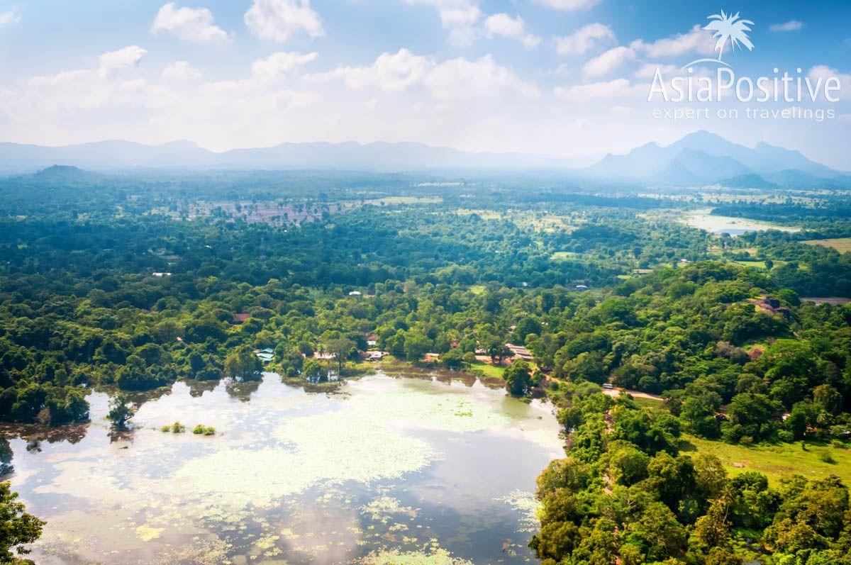 Пейзажи Сигирии - это незабываемое зрелище | Самые интересные варианты регулярных внутренних перелётов по Шри-Ланке - быстро, комфортно и незабываемо | Внутренние перелёты по Шри-Ланке | Путешествия по Азии AsiaPositive.com