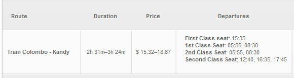 Расписание поездов Коломбо - Канди | 5 способов добраться из Коломбо в Канди с ценами, расписанием, плюсами и минусами каждого вида транспорта: самолёт, поезд, автобус, трансфер, авто в аренду. | Самоустоятельные путешествия по Шри-Ланке | Путешествия по Азии сAsiaPositive.com