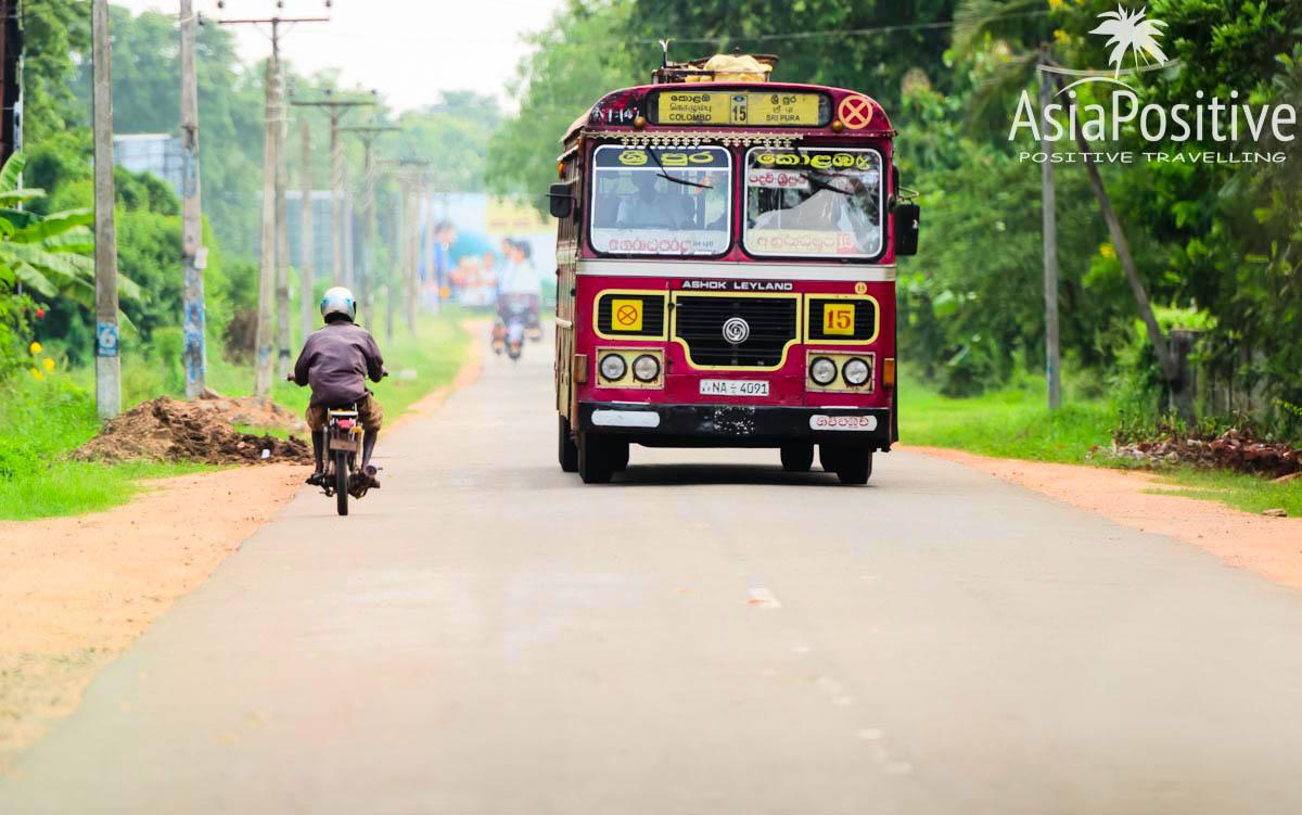 Обычный рейсовый автобус - медленный и бюджетный способ путешествий  | Шри-Ланка | Путешествия AsiaPositive.com
