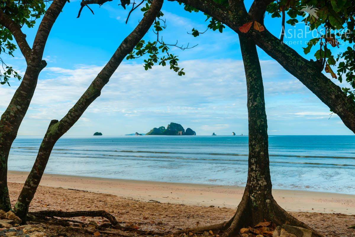 View of nearby islands from Ao Nang Beach | Beaches in Ao Nang (Krabi, Thailand) | Travelling in Asia with Asiapositive.com
