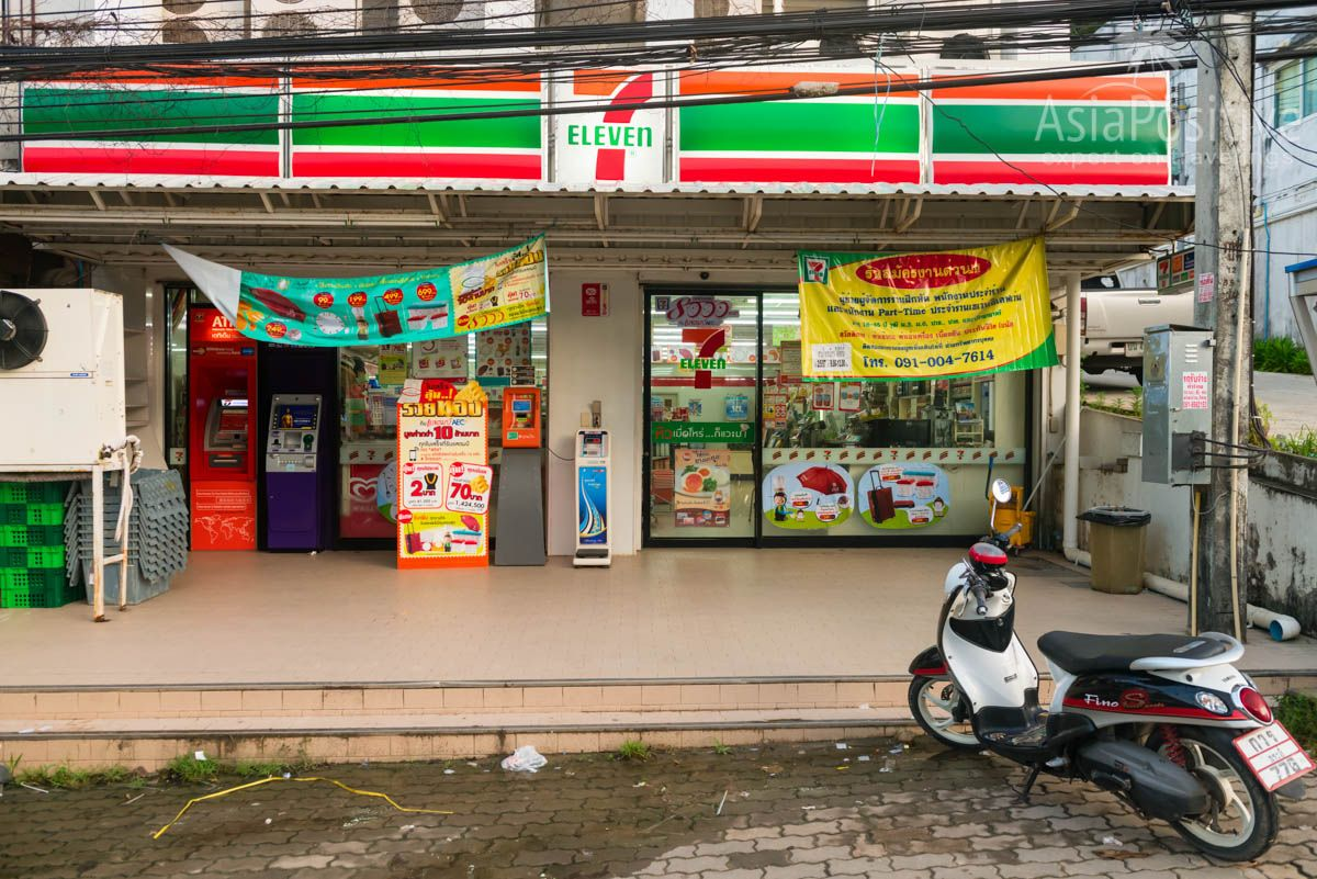 You can top up your account or buy a SIM card in the 7 Eleven store | Internet in Thailand | Travelling in Asia with AsiaPositive.com