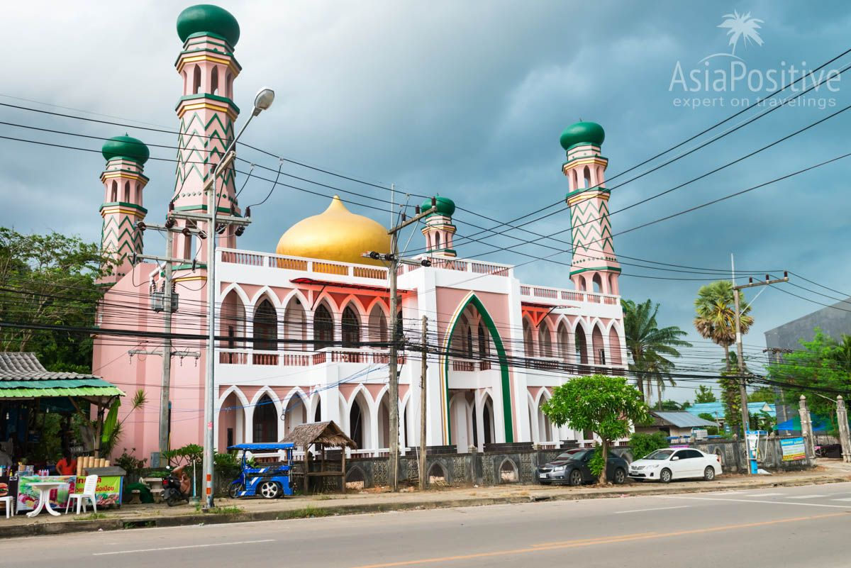 The Grand Mosque of Ao Nang (Krabi, Thailand) | Travel in Asia with AsiaPositive.com
