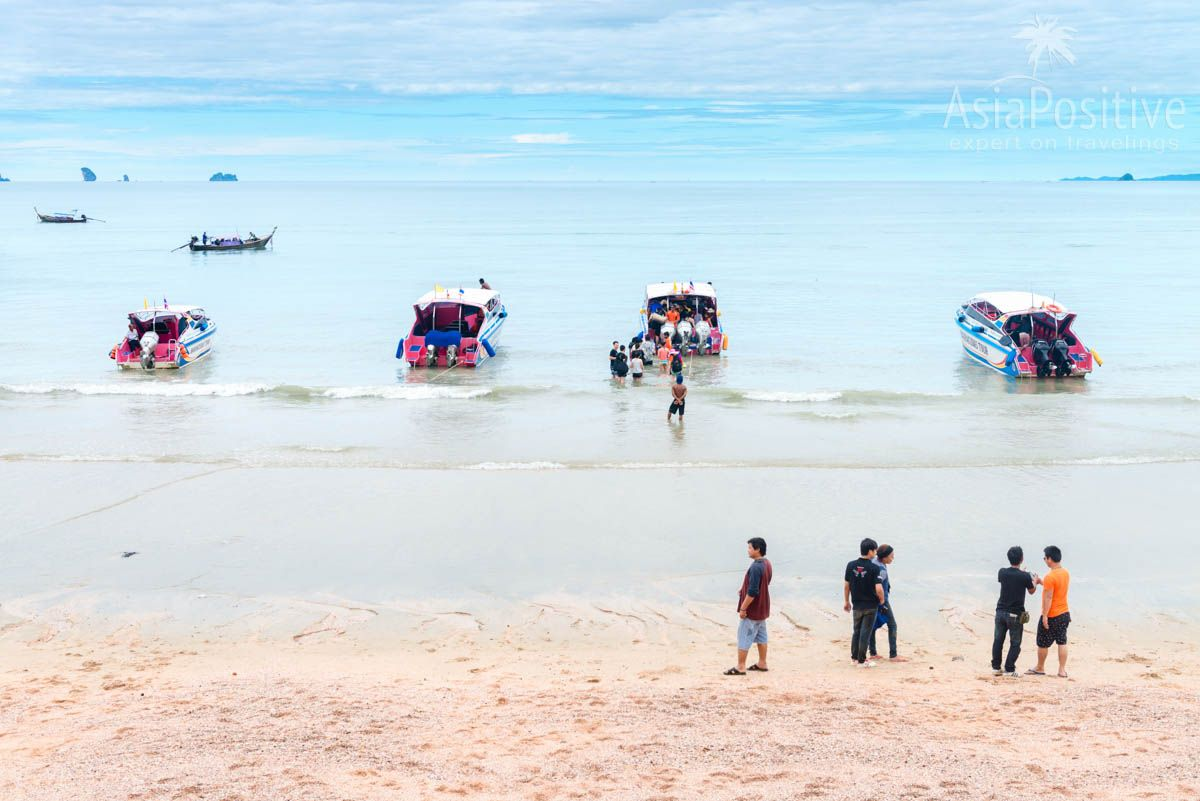 Tours to Krabi islands by speed boats | Ao nang, Krabi, Thailand | Travel in Asia with AsiaPositive.com