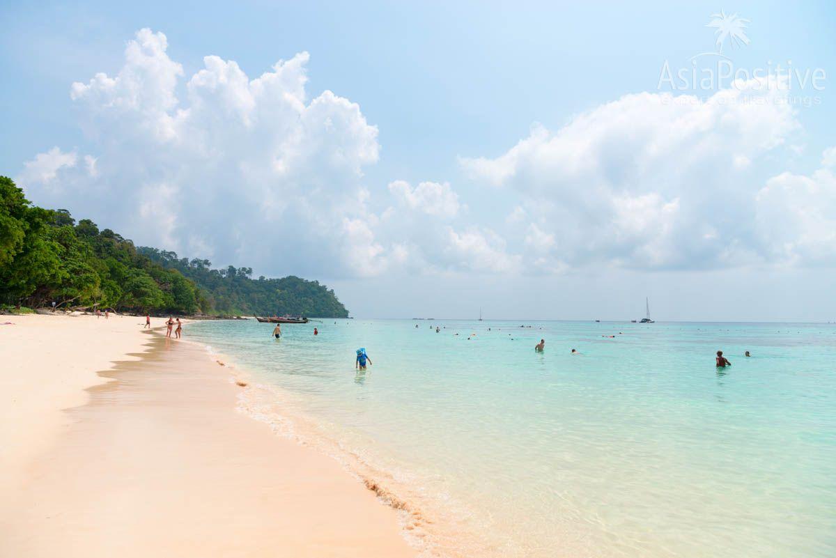 Пляж на острове Ко Рок (Ko Rok) | Острова и пляжи Краби: маршрут на 2 недели | Таиланд с AsiaPositive.com