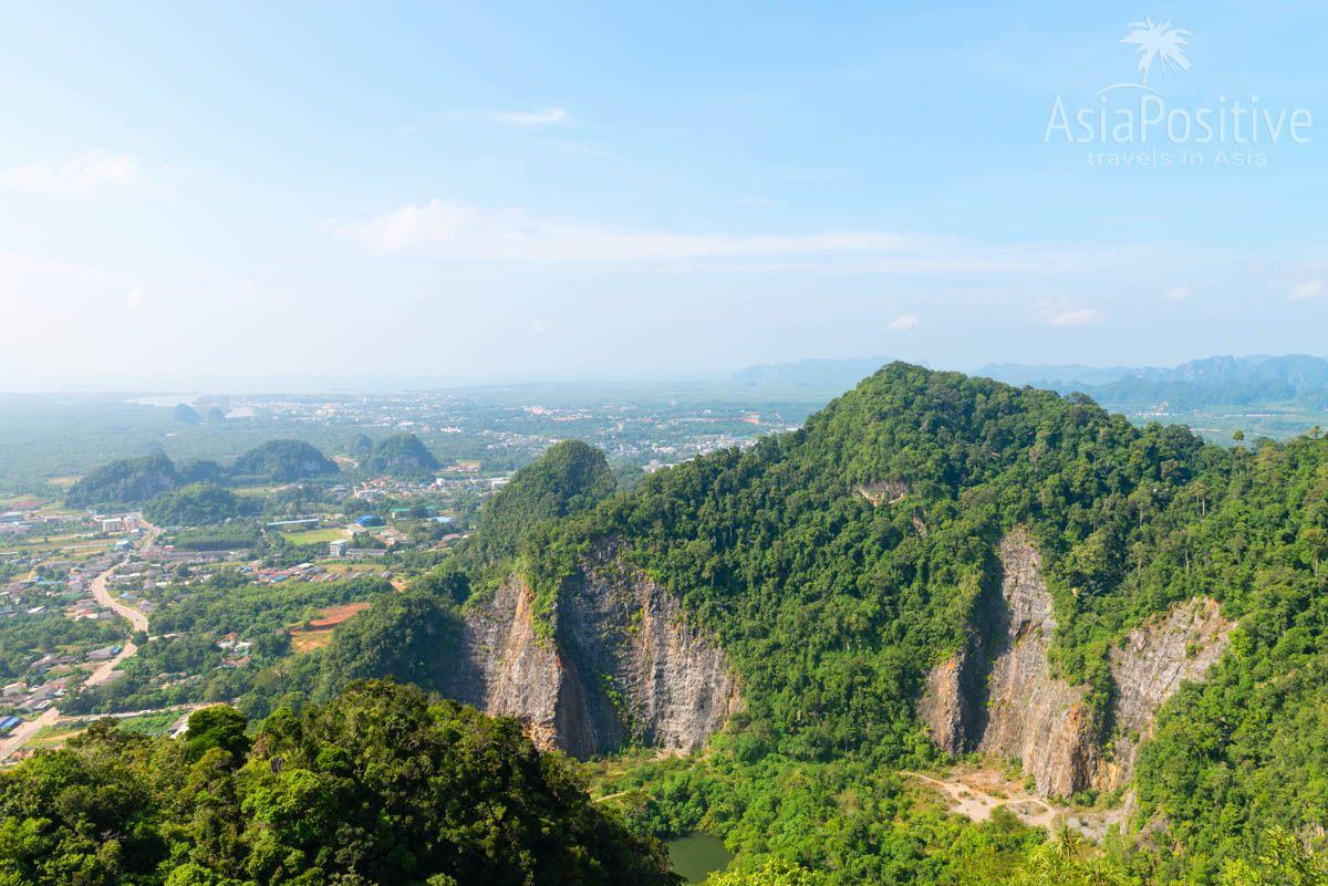 Вид с верршины Храма Пещеры Тигра | Краби, Таиланд | Путешествия с AsiaPositive.com