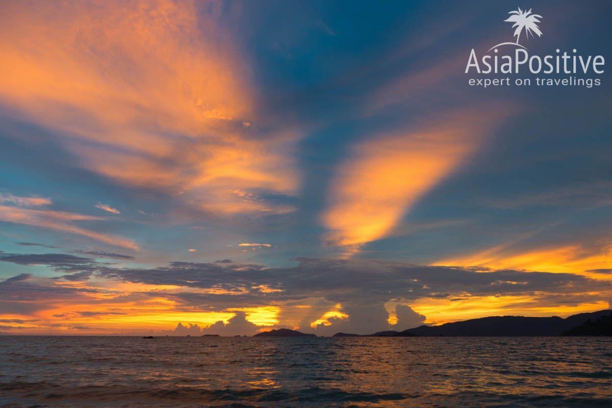 Закат на пляже Сансет (Sunset beach) | 7 причин поехать на остров Ко Липе | Эксперт по путешествиям AsiaPositive.com