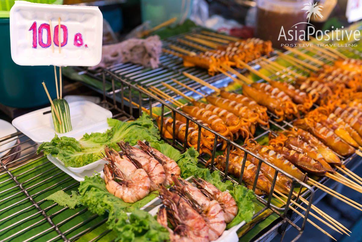 Прилавок на рынке выходного дня (Пхукет, Таиланд) | AsiaPositive.com