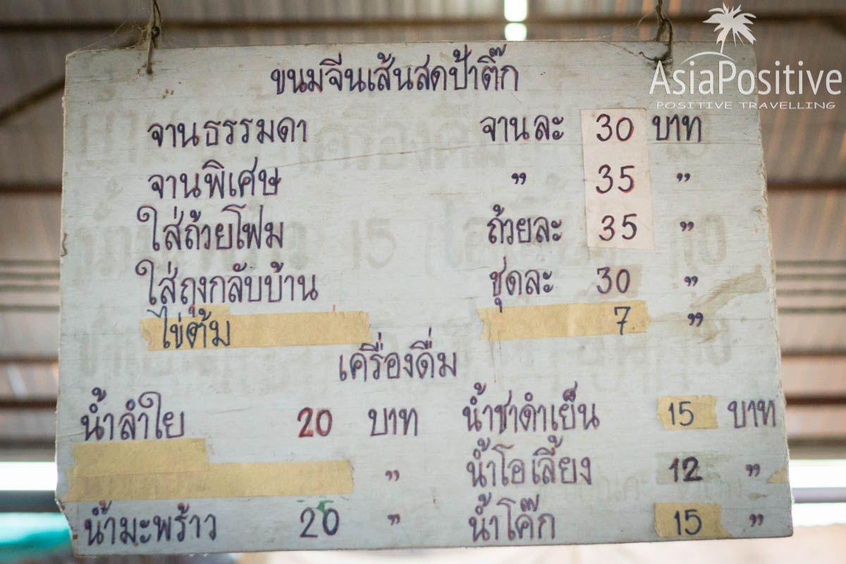 Ощутить себя глухо-немым не обученным письменной грамоте   15 причин поехать на тайский рынок   Позитивные путешествия AsiaPositive.com