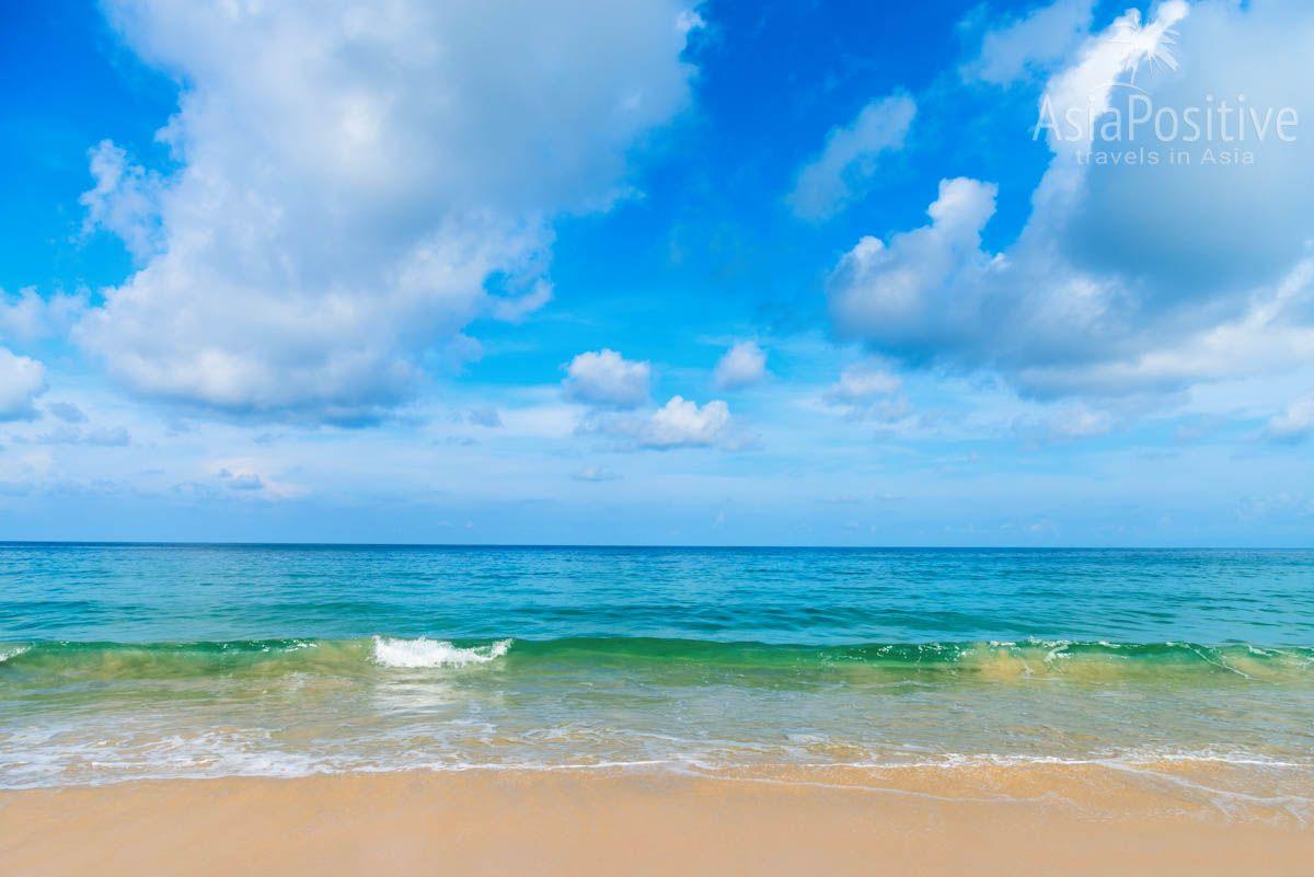 Море на пляжах Пхукета во второй половине апреля | Отдых в Таиланде весной - погода и лучшие курорты | Путешествия AsiaPositive.com