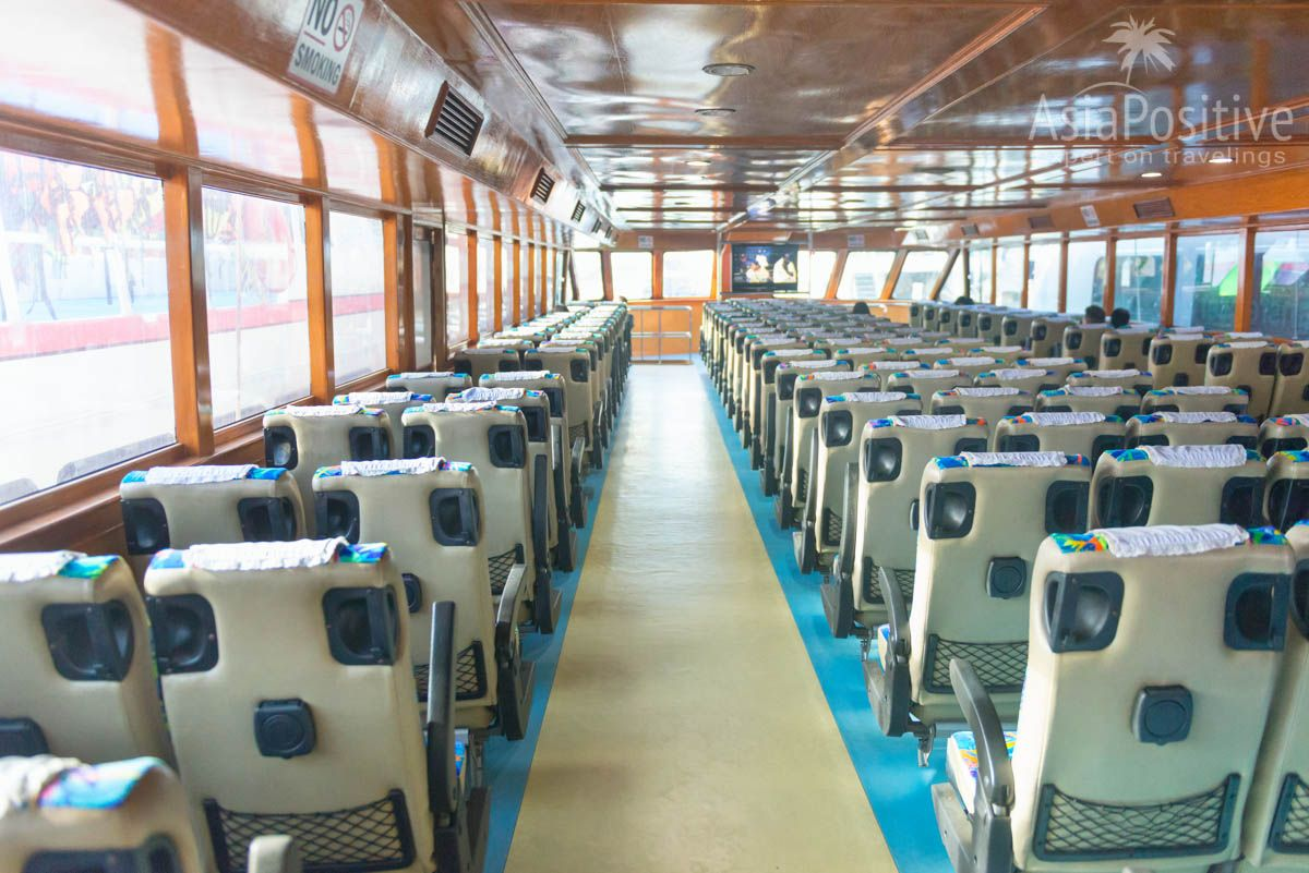 Интерьер парома с Пхукета на Ко Ланта | Как добраться с Пхукета на остров Ко Ланта | Путешествия и отдых с AsiaPositive.com