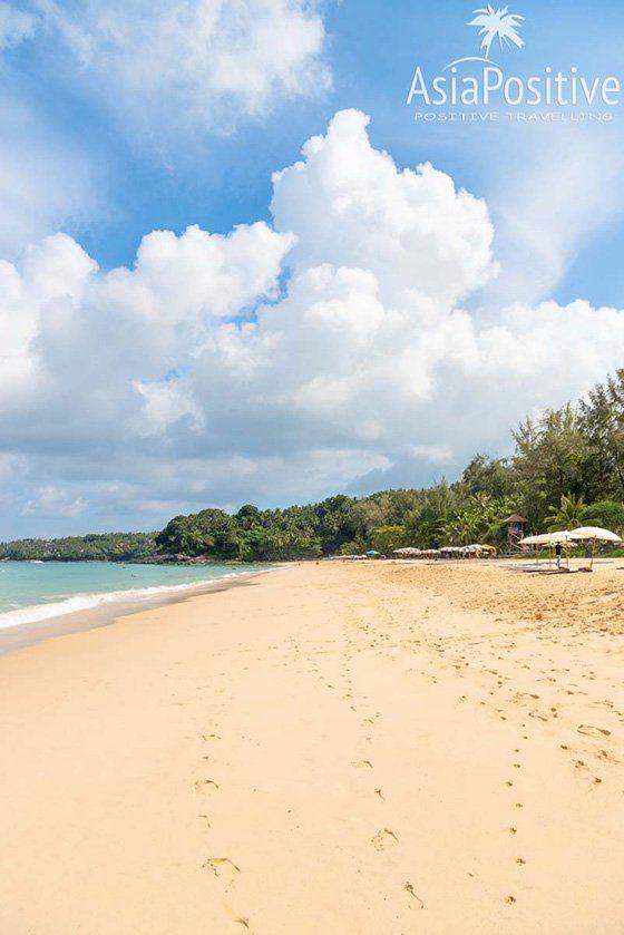Пляж Сурин - широкая полоса песка протяжённостью около 800 метров | Сурин - один из лучших пляжей Пхукета | Эксперт по путешествиям AsiaPositive.com
