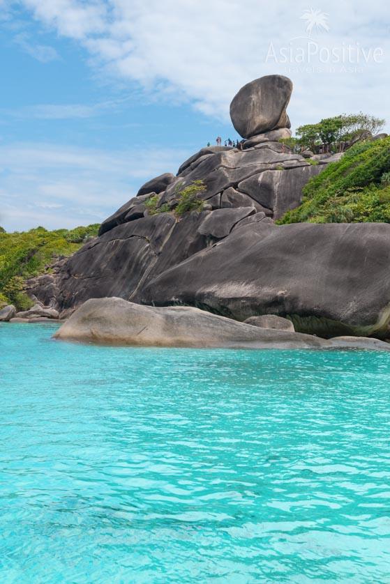 Скала Парус со смотровой площадкой | Симиланы - райские острова Таиланда | Таиланд с AsiaPositive.com