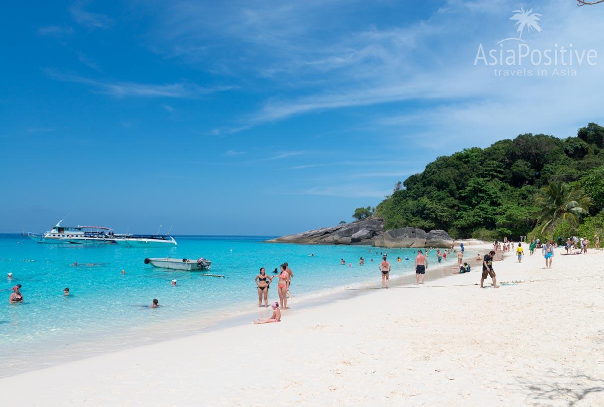 Одни из самых красивых и самых популярных островов Таиланда - Симиланские острова | Почему стоит поехать, как добраться, сколько стоит экскурсия на Симиланы | Таиланд с AsiaPositive.com
