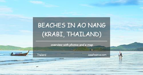 Beaches in Ao Nang (Krabi, Thailand)