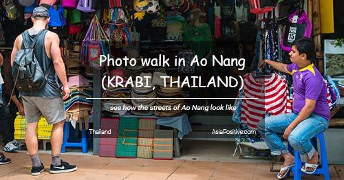 Photo walk in Ao Nang (Krabi, Thailand)