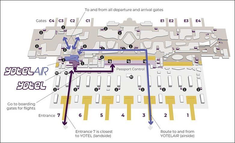 Схема, как найти отель в Новом Аэропорту Стамбула | Пересадка в аэропорту Стамбула | Путешествия AsiaPositive.com