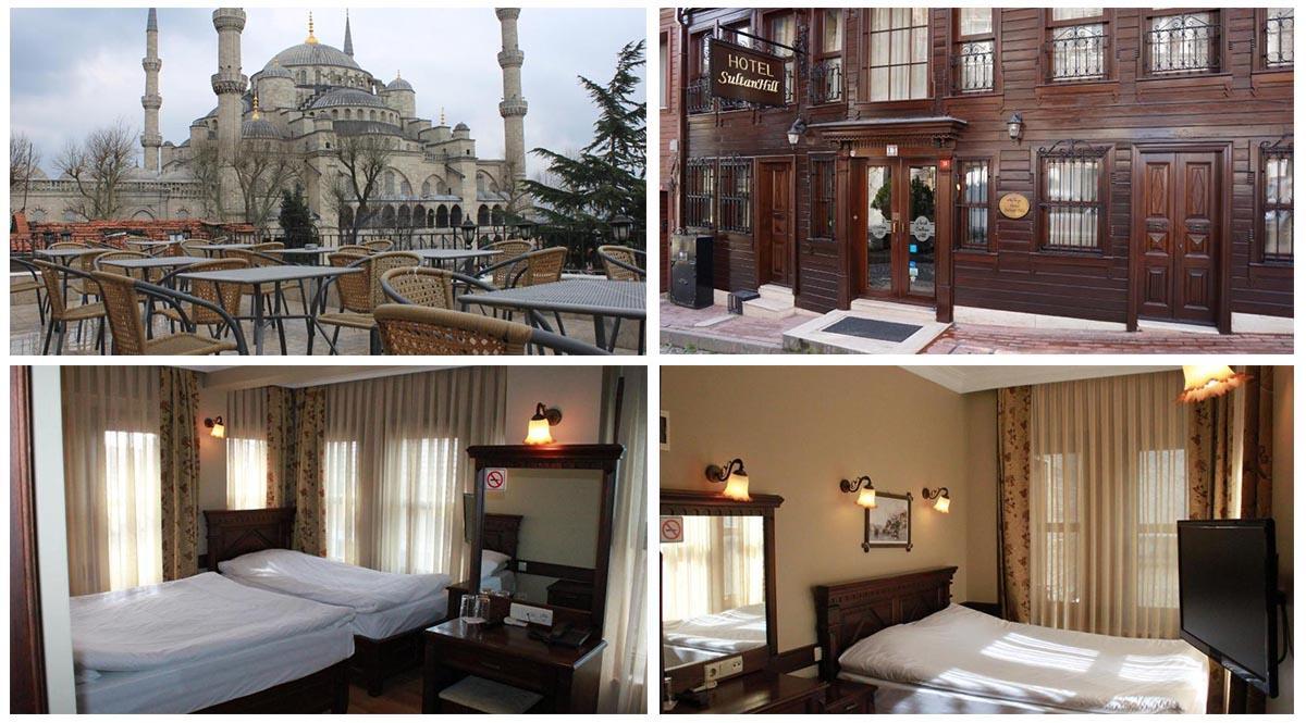 Hotel SultanHill соседствует с Голубой Мечетью | Недорогие отели в районе Султанахмет, Стамбул | Путешествия с AsiaPositive.com