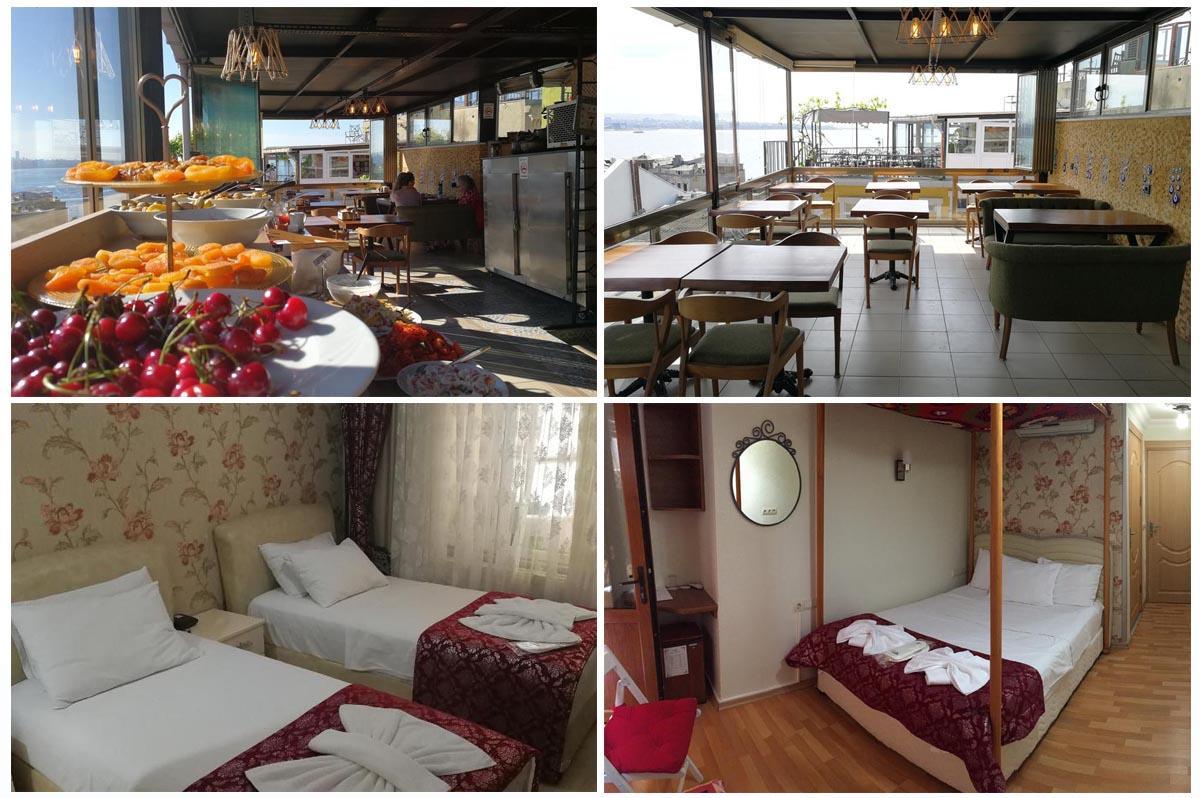 Marmara Guesthouse - идеальная чистота и вкусные завтраки с видом на Босфор | Недорогие отели в районе Султанахмет | Стамбул, Турция