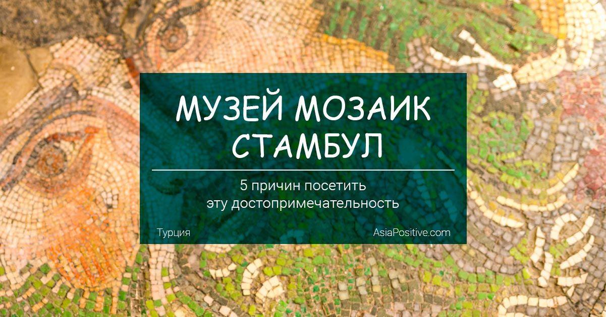 Музей мозаик (Стамбул) - 5 причин посетить эту достопримечательность | Чем интересен музей, фото и отзыв, часы работы и стоимость | Путешествия с AsiaPositive.com