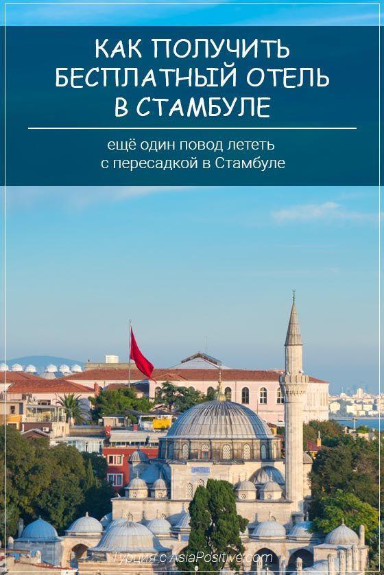 Как получить бесплатный отель в Стамбуле | Путешествия с AsiaPositive.com