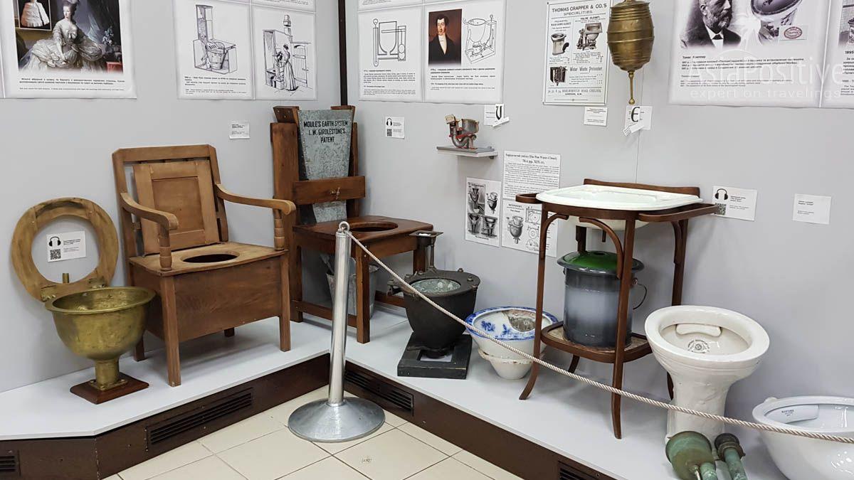Путь от ночного горшка до унитаза | Музей истории туалета