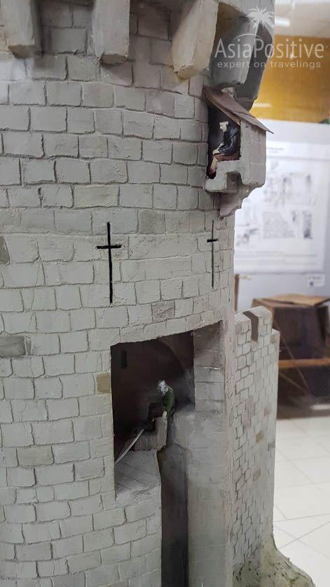 Выступы на башнях замка - это не просто так | Музей истории туалета