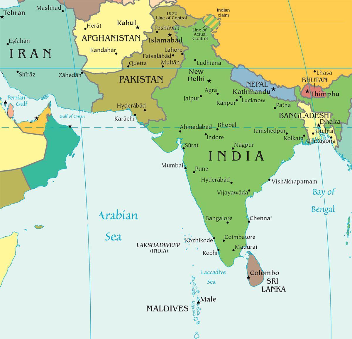 Страны Южной Азии | Лучшие страны Азии, в которые стоит поехать ради отдыха или путешествия - карты, список и краткое описание каждой страны. | Где начинается Азия и где в Азии стоит побывать | Путешествия по Азии AsiaPositive.com