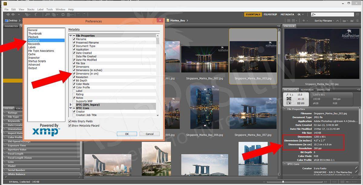 Как узнать размер фото в сантиметрах в программе Adobe Bridge | Фото и видео в путешествии | Справочник туриста | Эксперт по путешествиям AsiaPositive.com