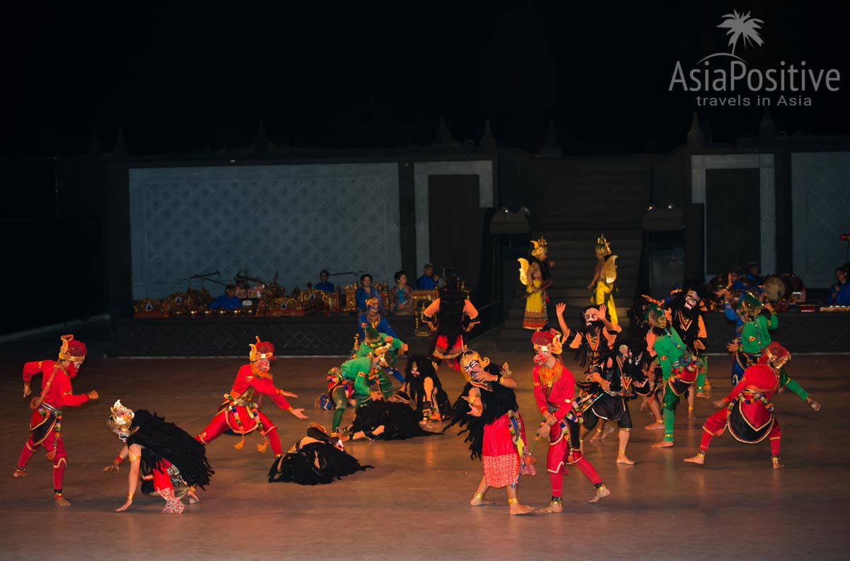 Сражение армий Раваны и Рамы | Рамаяна - самая популярная легенда Азии | Путешествия AsiaPositive.com
