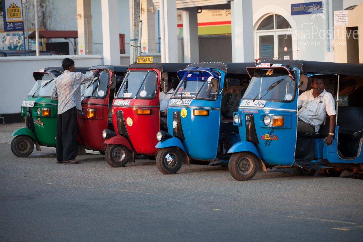 Тук-туки на Шри-Ланке всегда блестят как новенькие | Путешествия с AsiaPositive.com