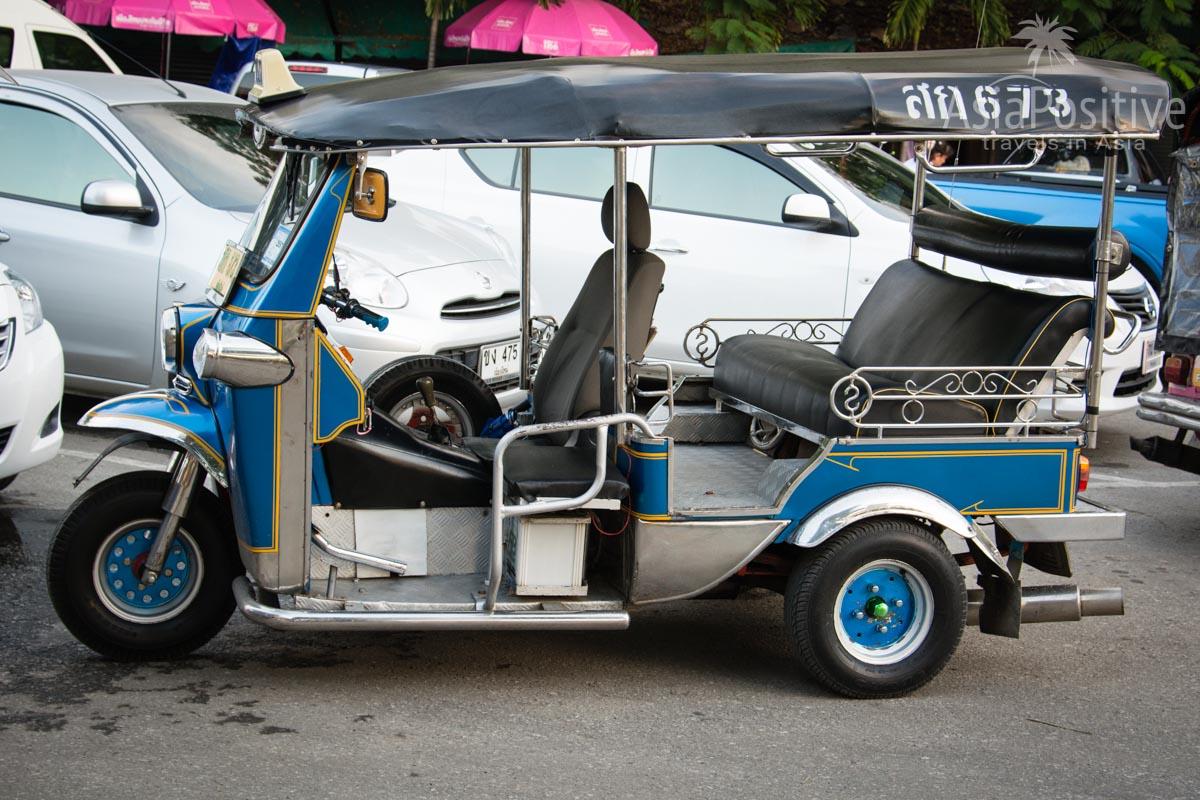 Классический тук-тук в Бангкоке (Таиланд) | Путешествия с AsiaPositive.com