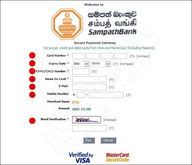 Оплата электронной визы на Шри-Ланку | Виза на Шри-Ланку онлайн: пошаговая инструкция и образец заполнения | Путешествия AsiaPositive.com