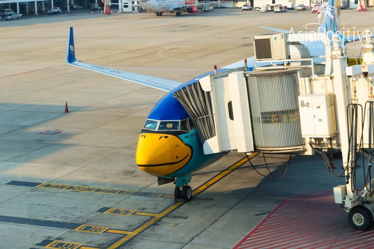 Самолёт NokAir - тайской бюджетной авиакомпании | Бангкок, Таиланд | Путешествия AsiaPositive.com