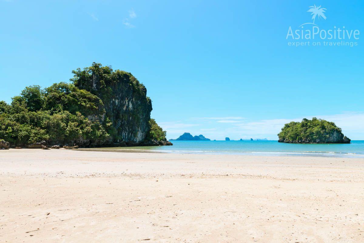 Безымянный красивый пляж на отмели (Ао Нанг, Краби, Таиланд) | Путешествия Asiapositive.com