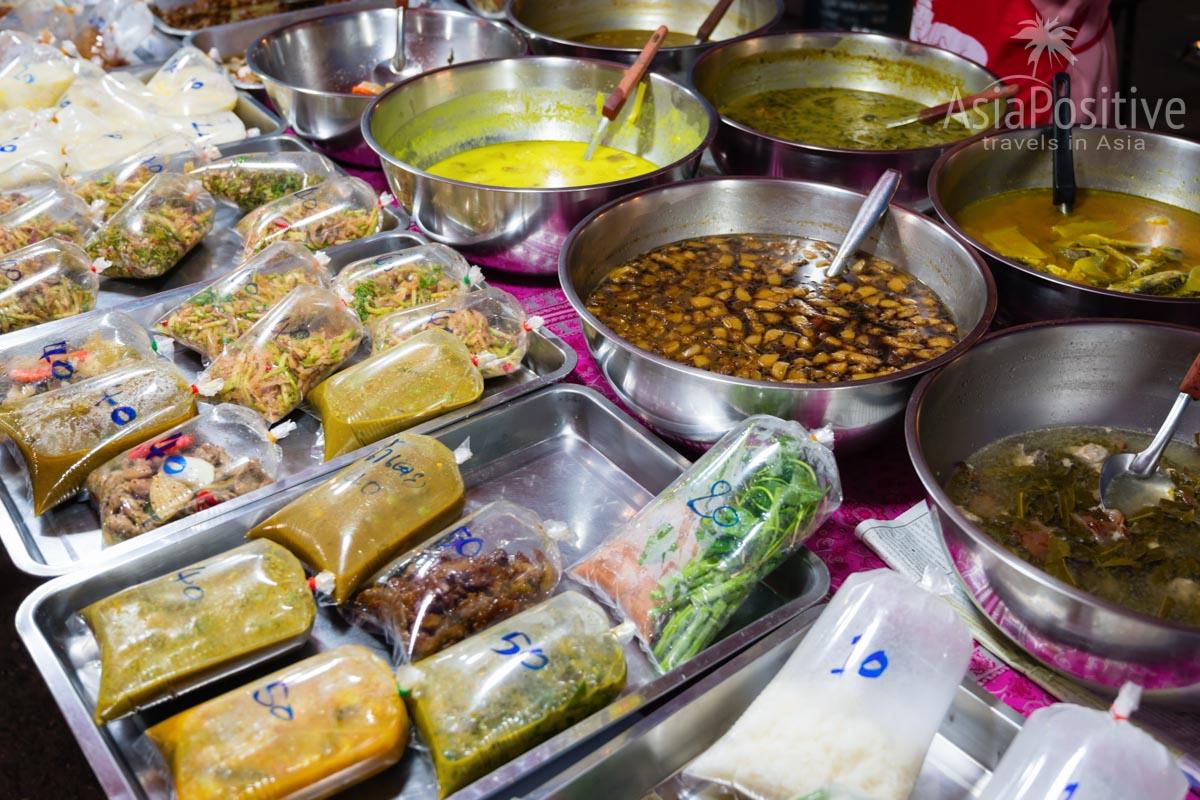 Недорогая еда на тайском рынке | Пхукет, Таиланд | Путешествия AsiaPositive.com