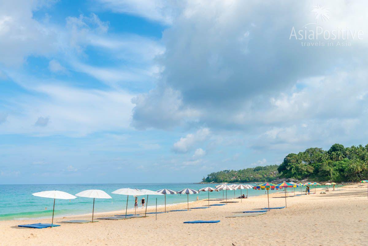 Пляж Сурин - широкая полоса песчаного пляжа | Путешествия AsiaPositive.com