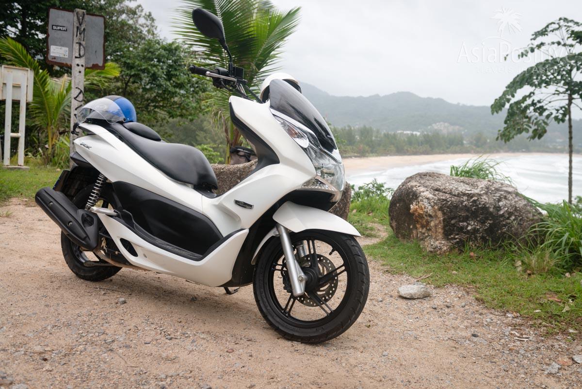 Удобный транспорт для 2 взрослых - мопед Honda PCX | Транспорт в Таиланде | Путешествия с AsiaPositive.com