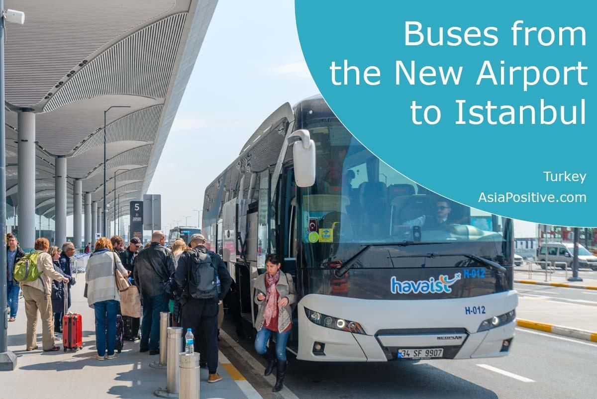 Buses from New Airport to Istanbul or back | Travels in Turkey | Asiapositive.com