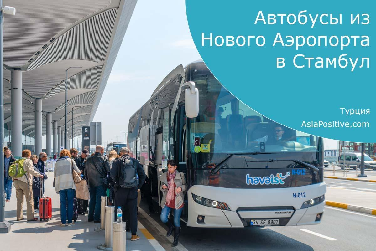 Автобусы из Нового Аэропорта в Стамбул и обратно | Турция | Путешествия с AsiaPositive.com
